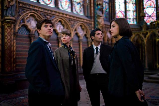 Nureyev con sus amigos franceses El bailarín