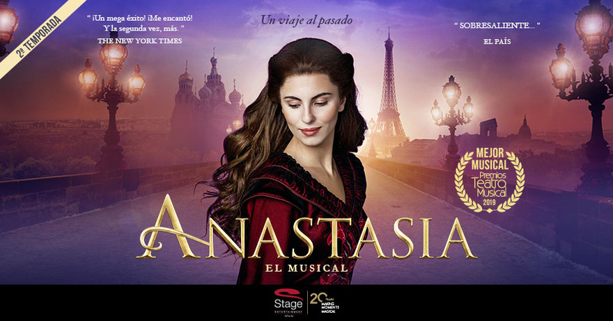 Anastasia, musicales en Navidad