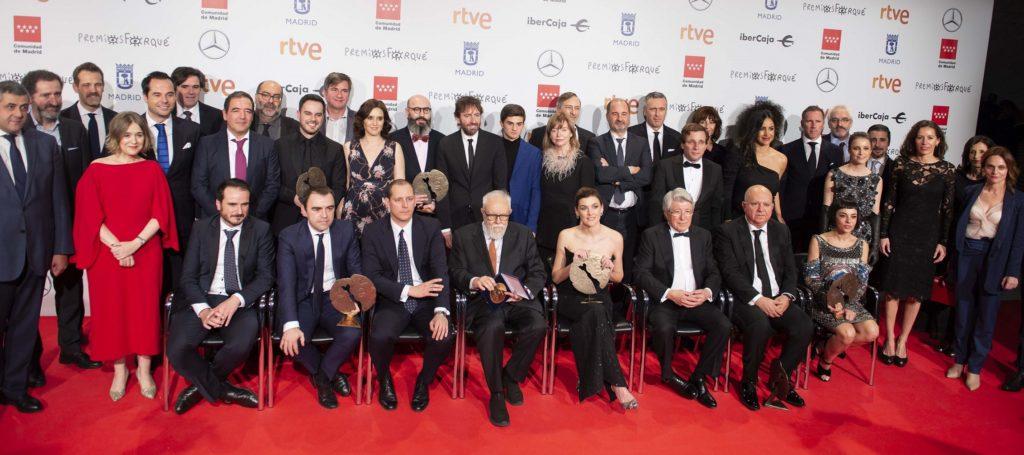 Ganadores de los 25 Premios Forqué