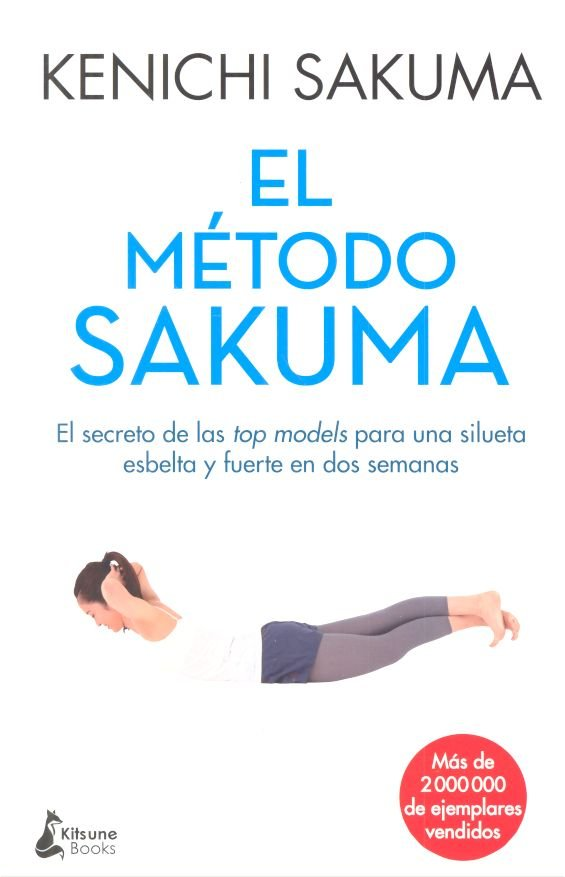 Portada de El método Sakuma, el libro anterior a El método Sakuma full body