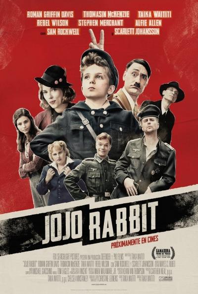 Cartel de Jojo Rabbit, estrenos del 17 de enero