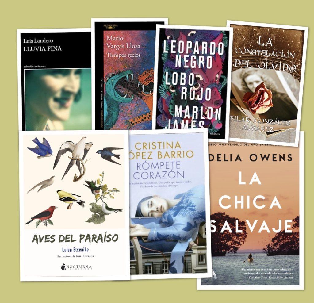 Los mejores libros para regalar en Reyes (narrativa)