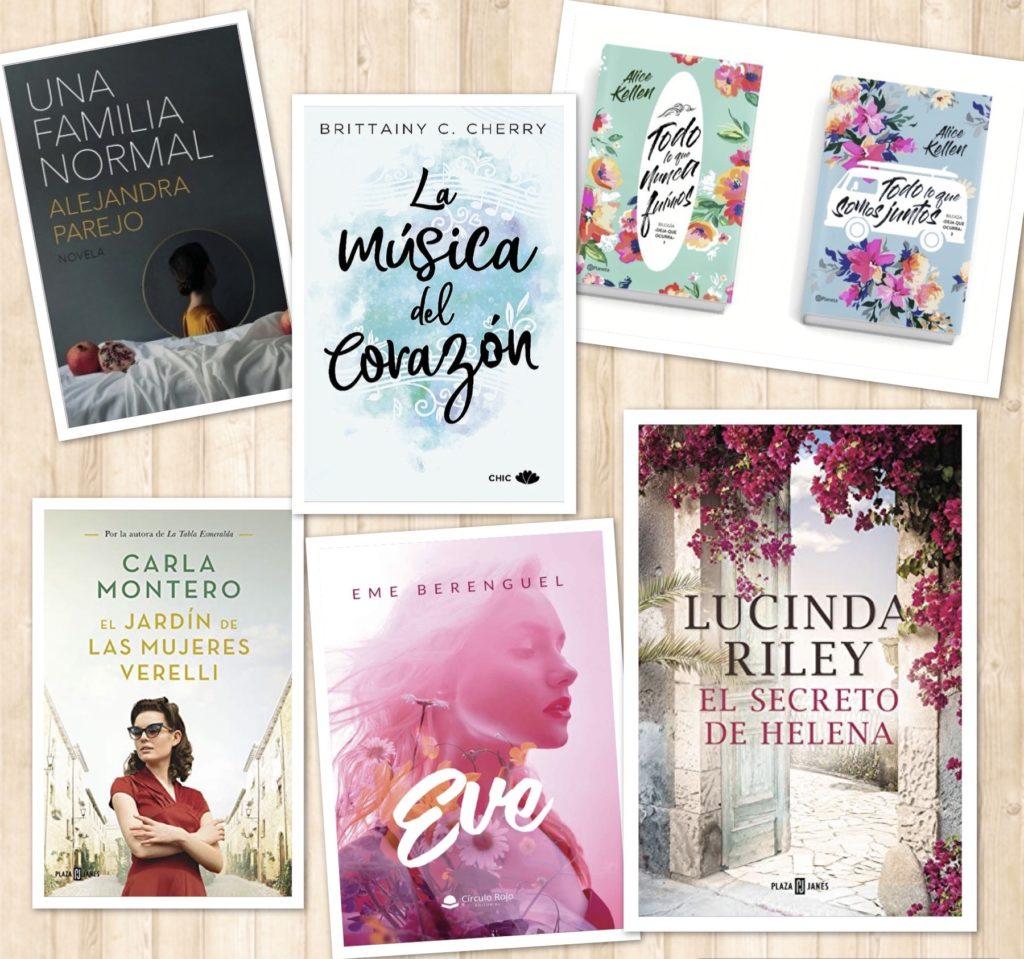 Los mejores libros para regalar en Reyes (narrativa femenina-contemporánea)