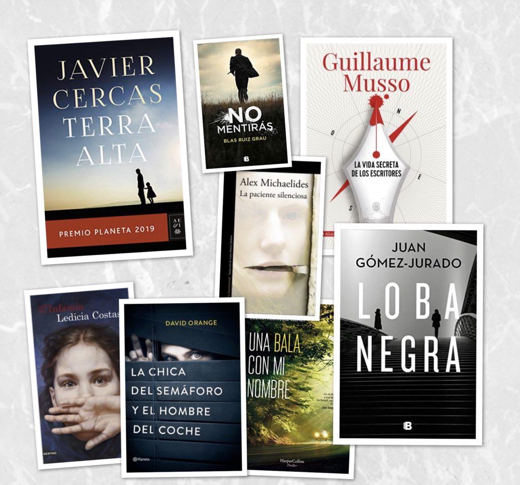 Los mejores libros para regalar en Reyes (thriller)