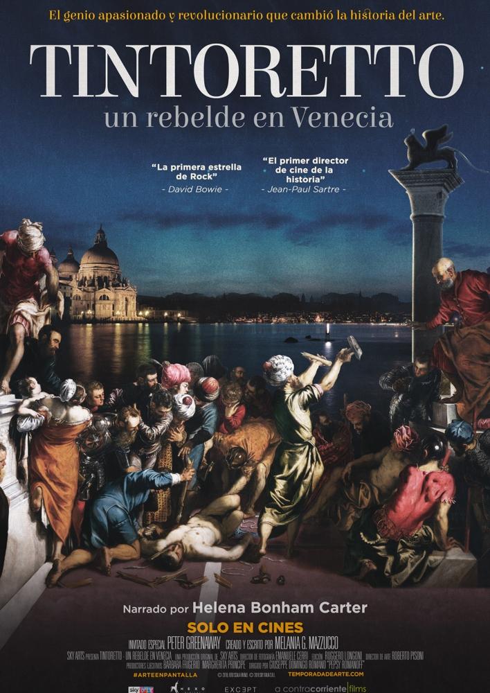 Cartel de Tintoretto. Un rebelde en Venecia