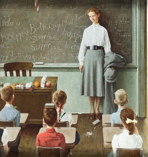 """Imagen de una maestra en los años 30, donde se enmarca """"Como el viento de otoño"""""""