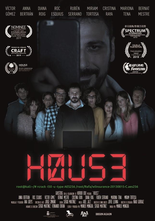 La película H0US3 en Planet Horror