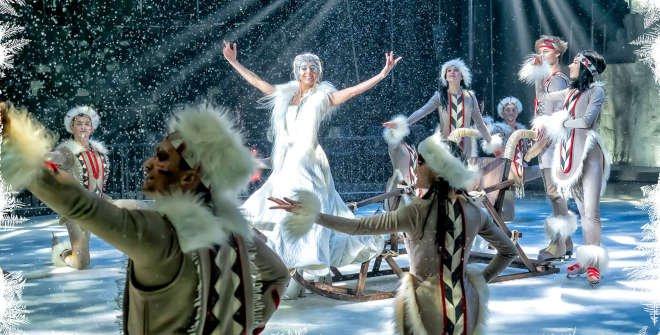 El espectáculo Circo de Hielo 2 narra una historia de los inuits.