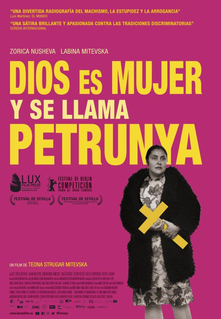 Cartel de Dios es mujer y se llama Petrunya