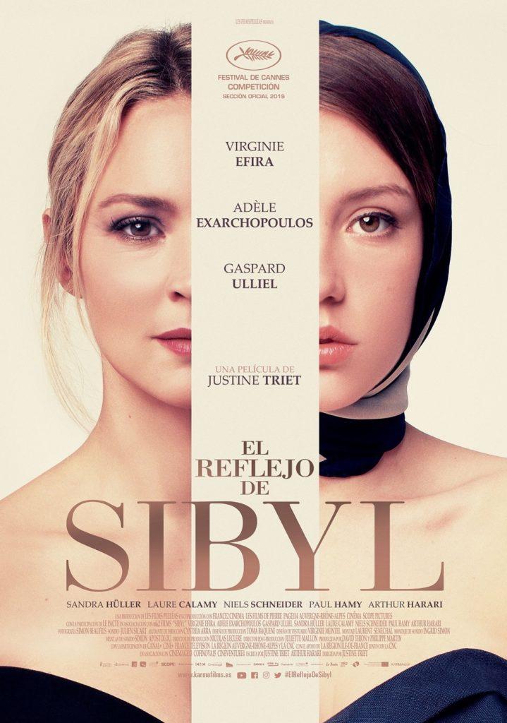 Cartel de El reflejo de Sibyl