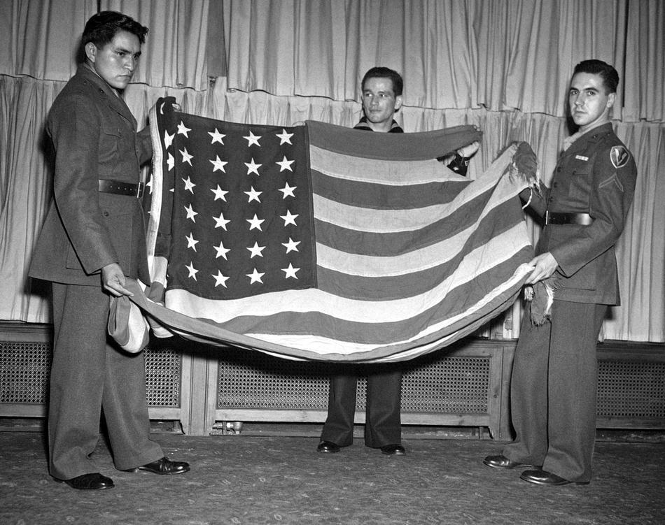 ira hayes bandera