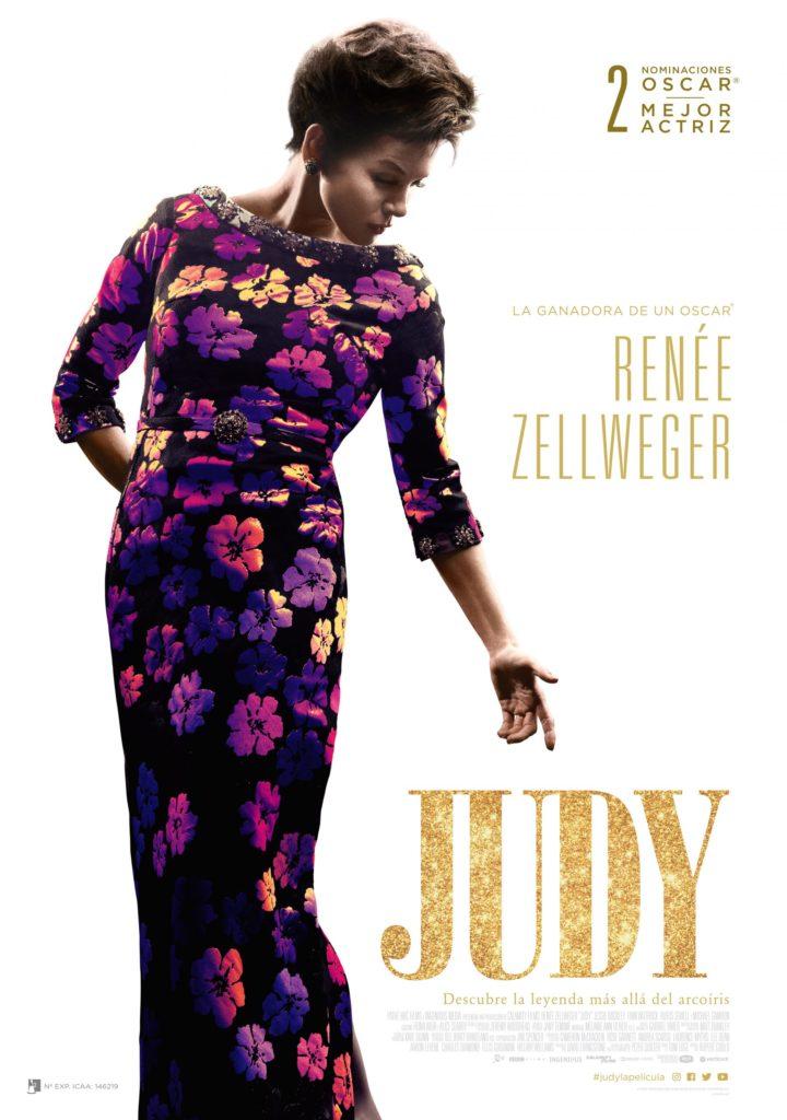 Cartel de Judy, estrenos del 31 de enero