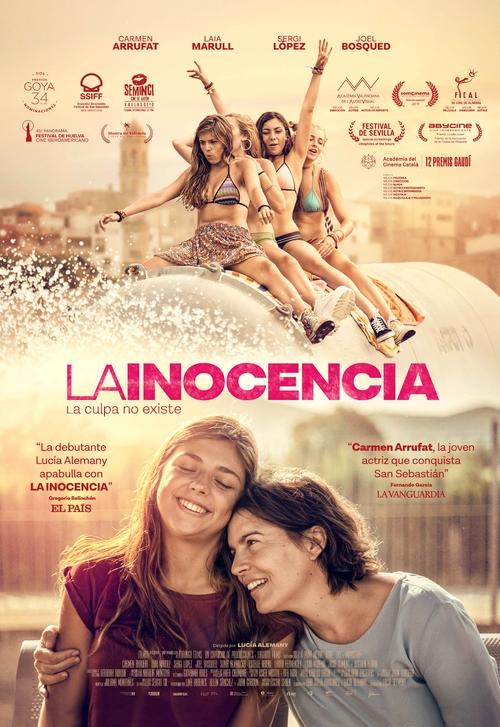 Cartel de La inocencia, estrenos del 10 de enero