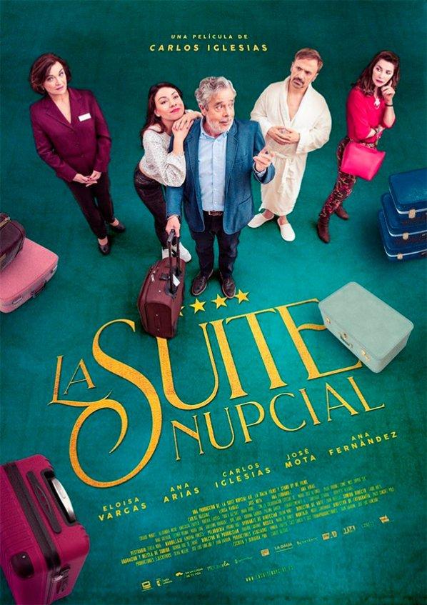 Cartel de La suite nupcial, estrenos del 10 de enero