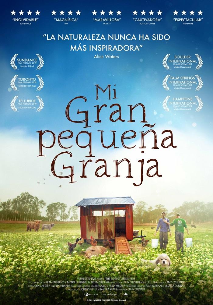 Cartel de Mi gran pequeña granja, estrenos del 31 de enero