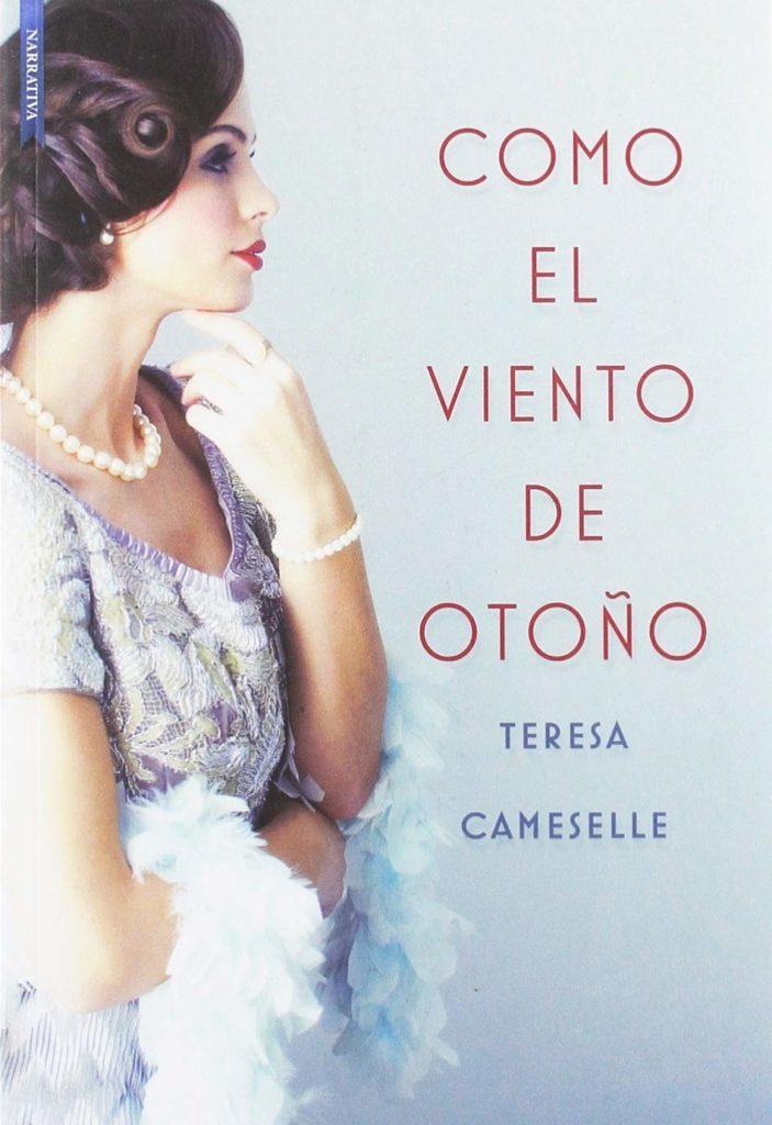 """Portada de """"Como el viento de otoño"""" de Teresa Cameselle"""