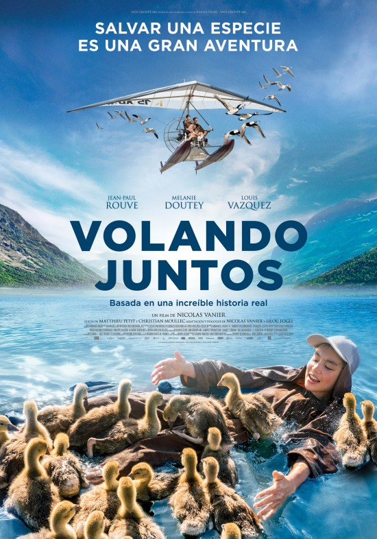 Cartel de Volando juntos, estrenos del 31 de enero