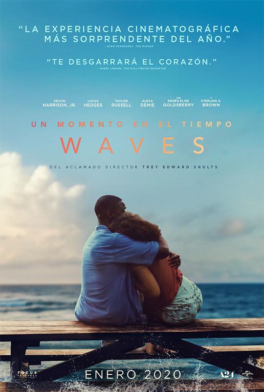 Cartel de Un momento en el tiempo-Waves
