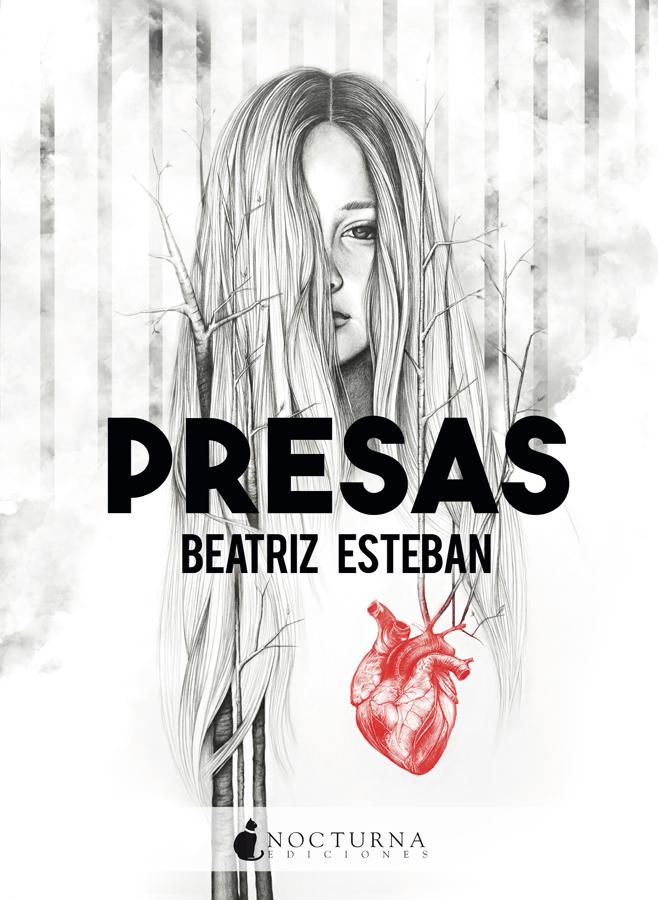 Portada de la novela Presas de Beatriz Esteban