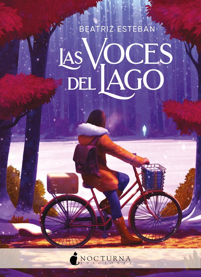 """Portada de """"La voces del lago"""" de Beatriz Esteba"""