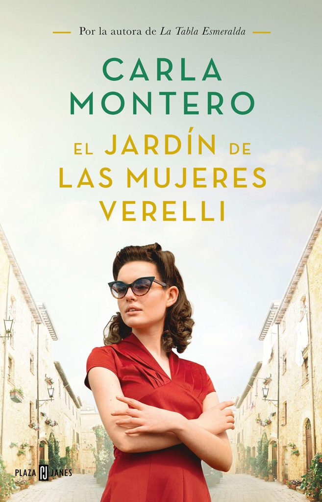 """Portada de """"El jardín de las mujeres Verelli"""" de Carla Montero"""