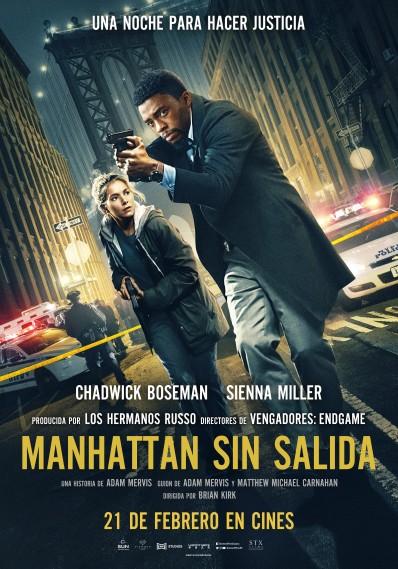 Cartel de Manhattan sin salida, estrenos del 21 de febrero