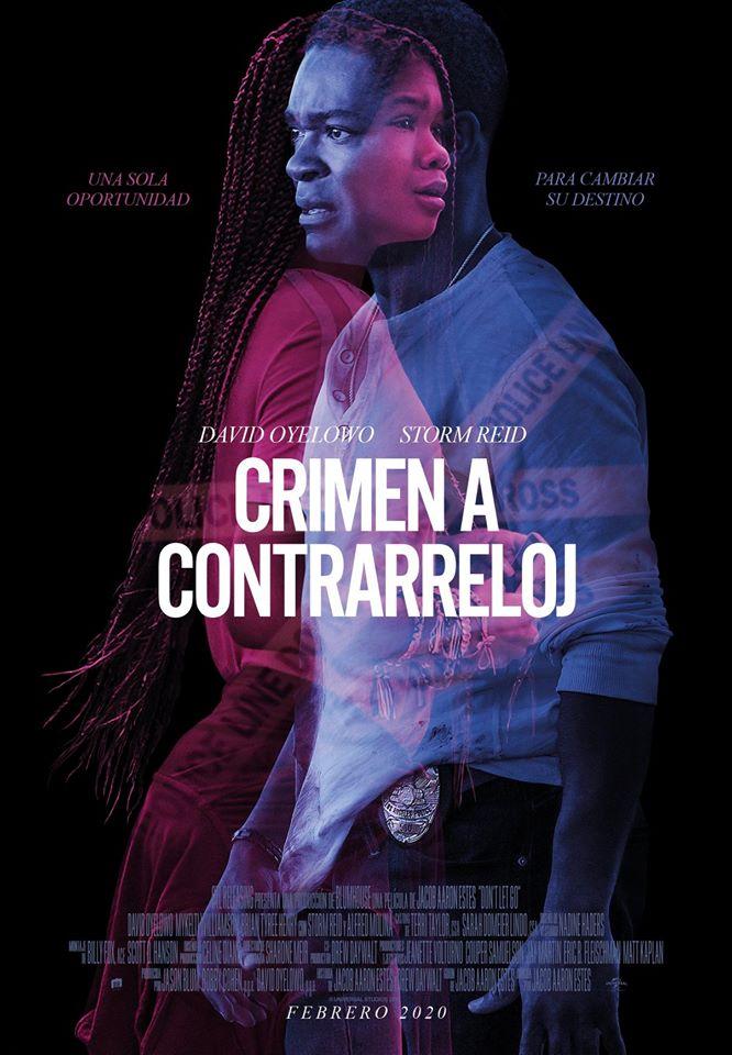 Cartel de Crimen a contrarreloj, estrenos del 14 de febrero