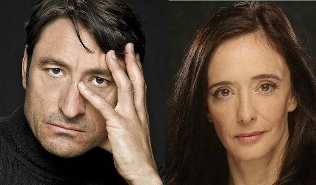 Carmelo Gómez y Ana Torrent