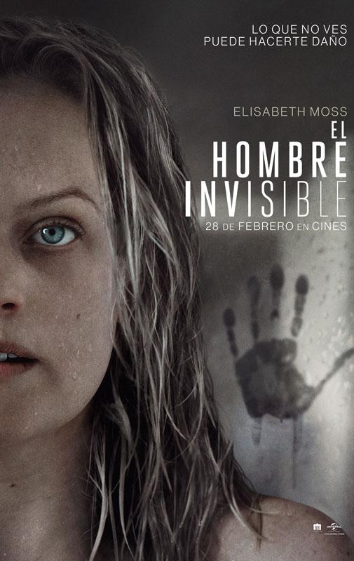 Cartel de El hombre invisible, estrenos del 28 de febrero