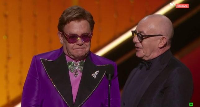 Oscars 2020 Elton John
