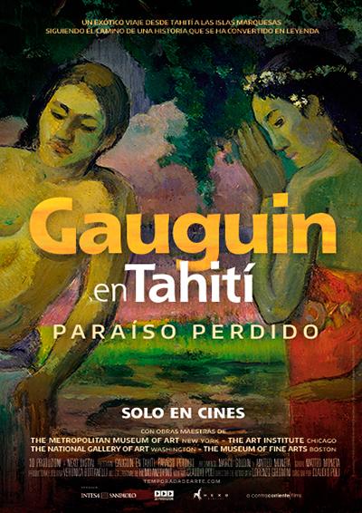 Cartel de Gauguin en Tahití: Paraíso perdido , estrenos del 21 de febrero
