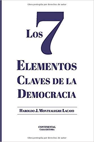 Portada de Los 7 elementos claves de la democracia