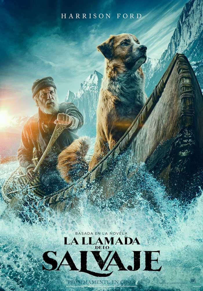 Cartel de La llamada de lo salvaje, estrenos del 21 de febrero