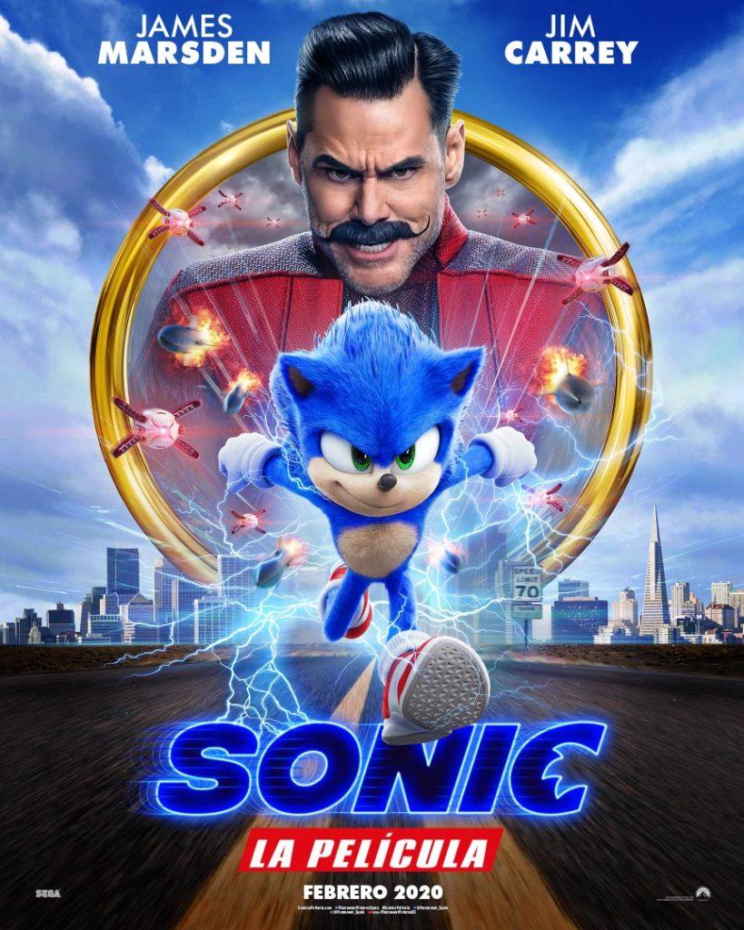 Cartel de Sonic: La película