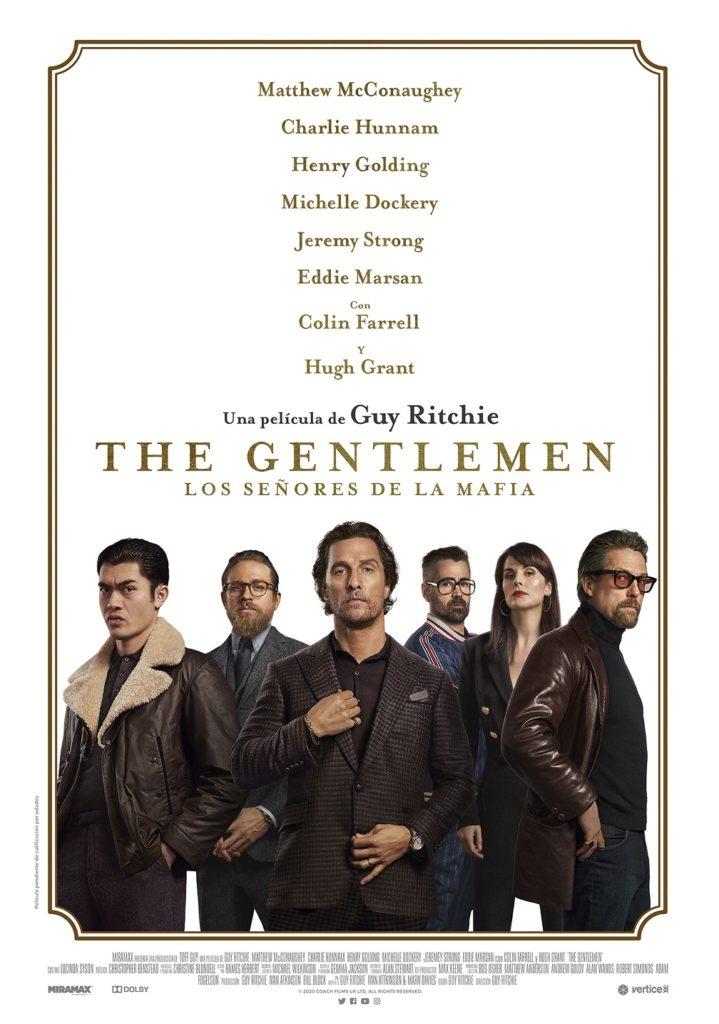 Cartel de The Gentlemen: Los señores de la Mafia