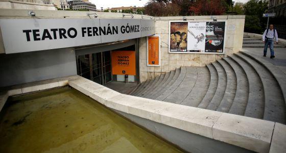 Madrid volverá a subir el telón. El Teatro Fernán Gómez, en la Plaza de Colón.