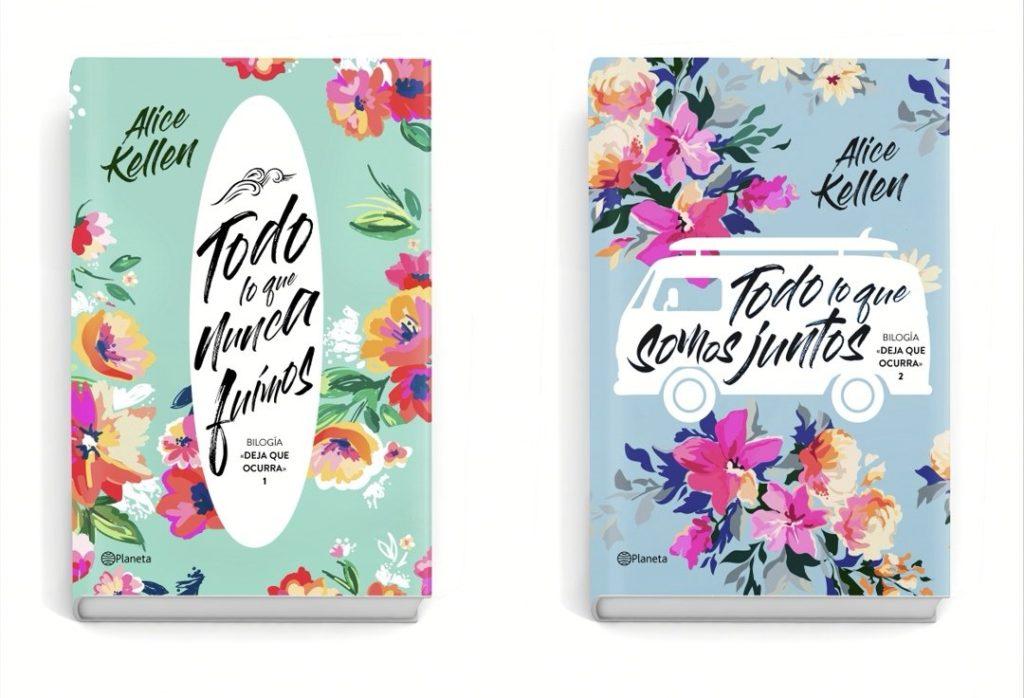 """Libros de la bilogía """"Deja que ocurra"""" de Alice Kellen"""