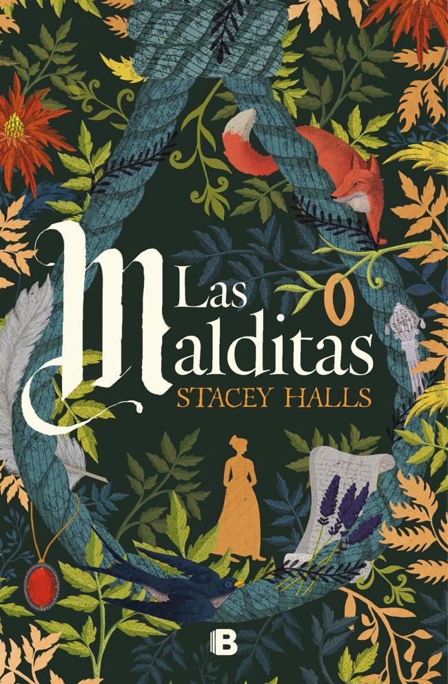 """Portada del libro """"Las malditas"""" de Stacey Halls"""