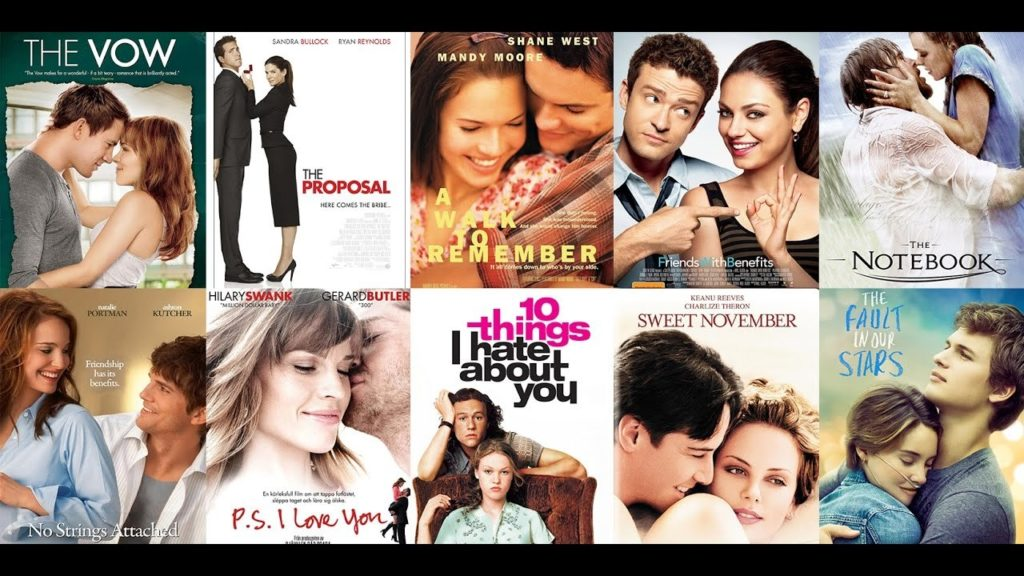 """Películas que salen referenciadas en la novela """"Un amor de película"""""""