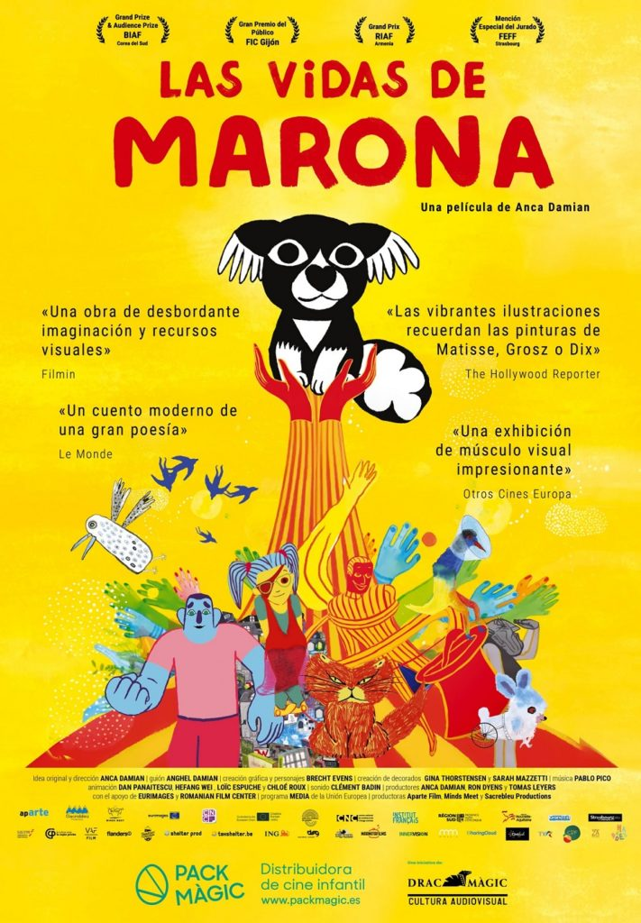 Cartel de Las vidas de Marona