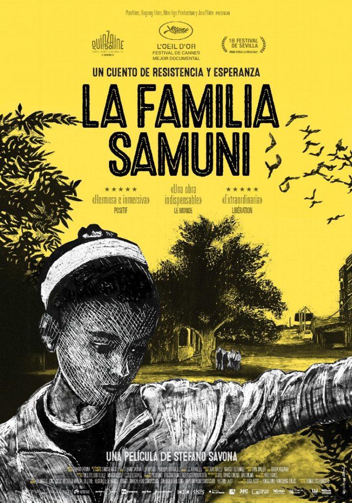Cartel de La familia Samuni, estrenos del 13 de marzo