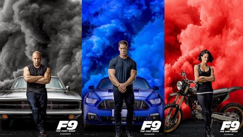 F9, Diesel, Cena y Rodríguez