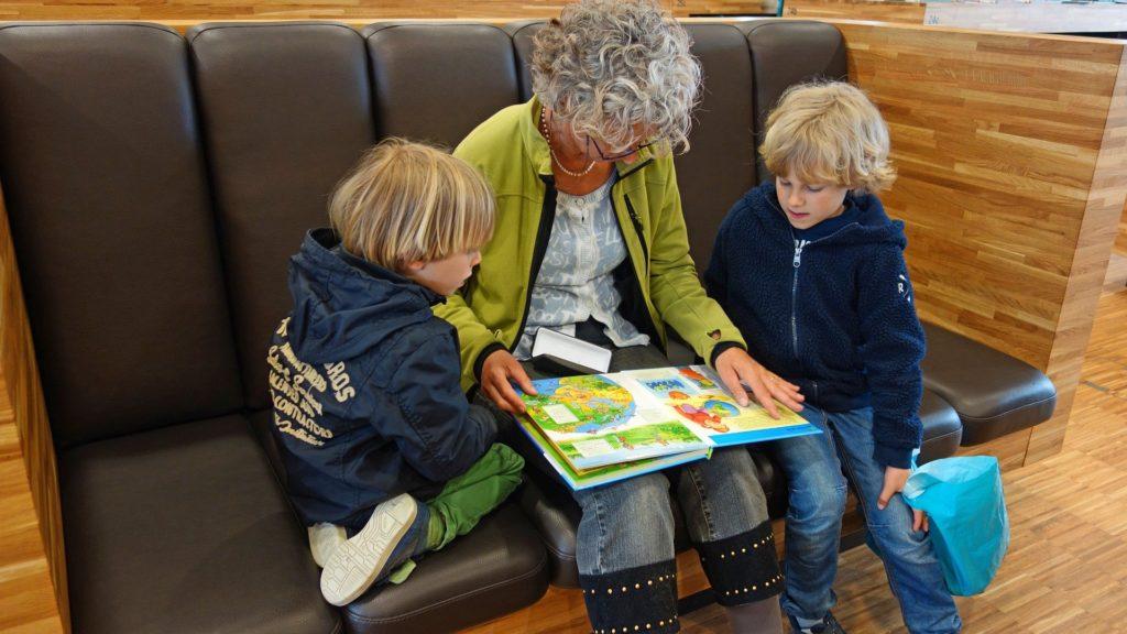 Lectura a niños