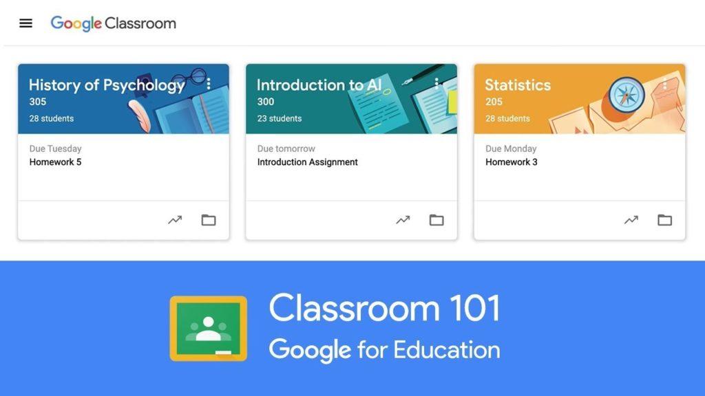 Herramienta Google Classroom