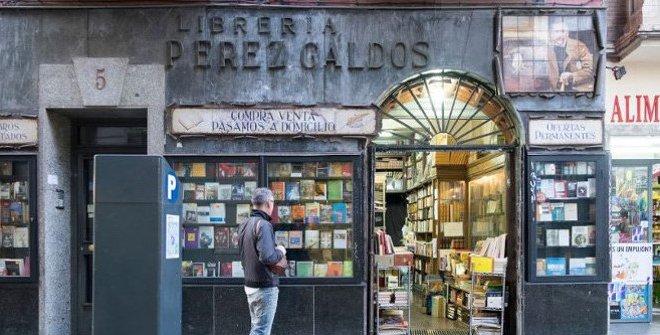 Parte del recorrido del Paseo Literario de Pérez Galdós