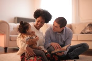 Disfrutar leyendo en familia