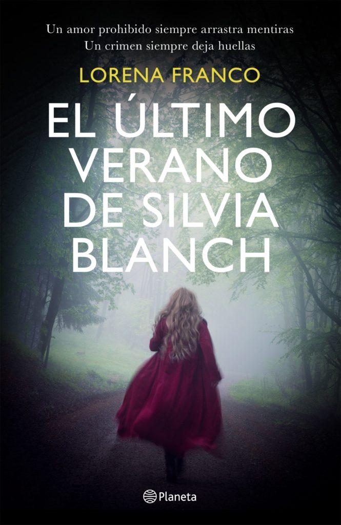 """Portada de """"El último verano de Silvia Blanch"""" de Lorena Franco"""