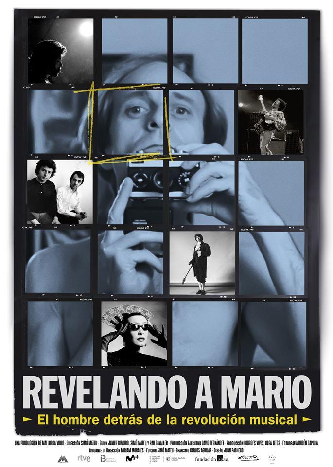 Cartel de Revelando a Mario