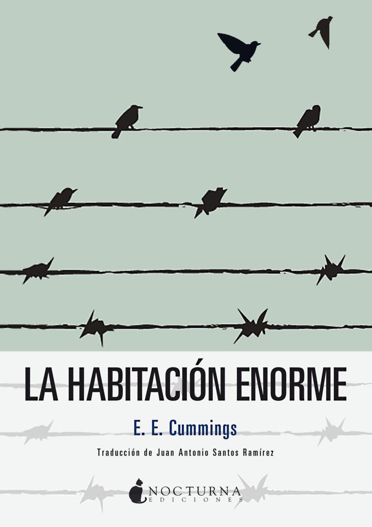 "Portada de la novela ""La habitación enorme"" de E.E. Cummings"