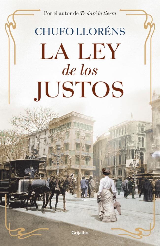 Portada de La ley de los Justos, novela anterior de Chufo Lloréns